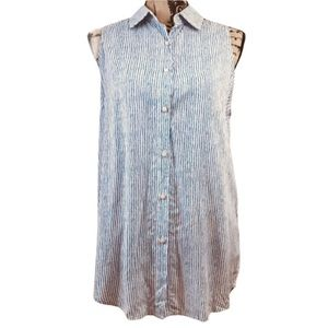 ANTHROPOLOGIE Lili's Closet Lace Insert Back Top S